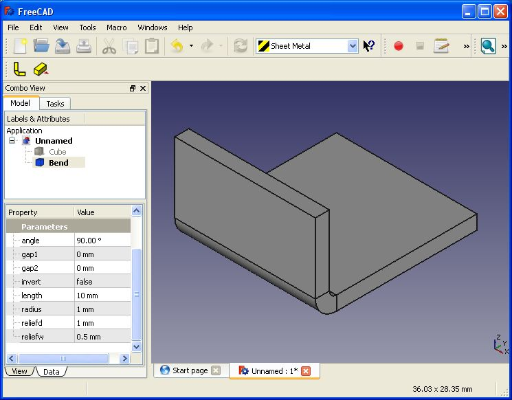 Sheet metal addon for freecad projects anyone Free cad programs